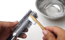 How to clean Hot Air Brush